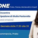 Incontro con Giulia Pastorella Azione Prato